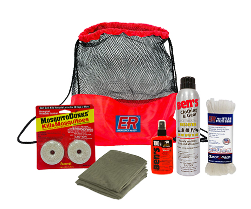 Mosquito and Tick Repellent Kit