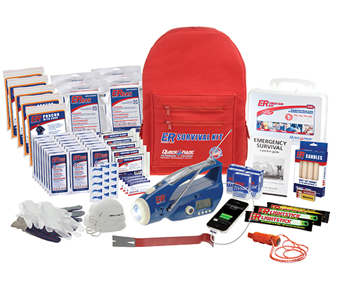 Safety School Backpack Survival Kit