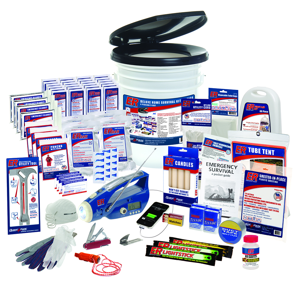 2 Person Ultimate Deluxe Home Survival Kit