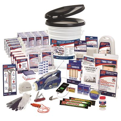 4 Person Ultimate Deluxe Home Survival Kit