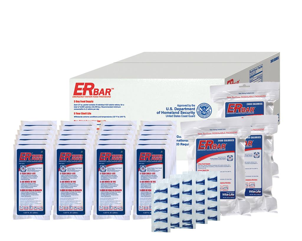 ER™ Emergency Food and Water - Case Pack