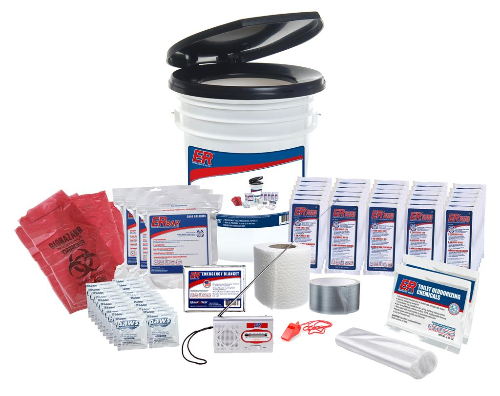 ER™ 30 Person Lockdown Survival Kit