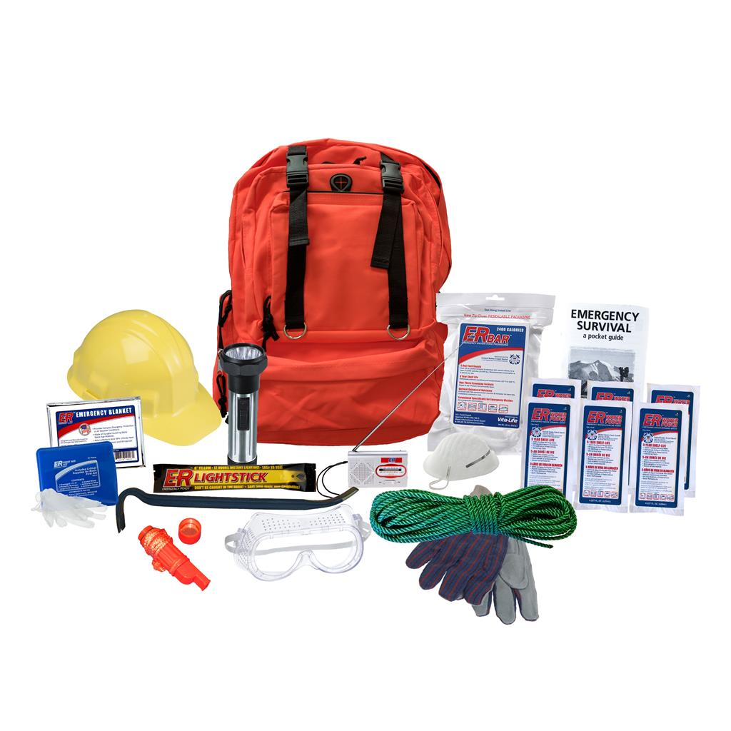 72-Hour Search and Rescue Backpack Kit