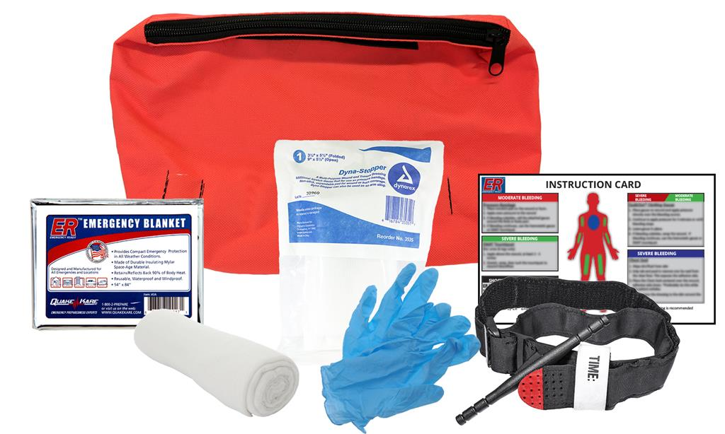Basic Emergency Blood Stopper Kit