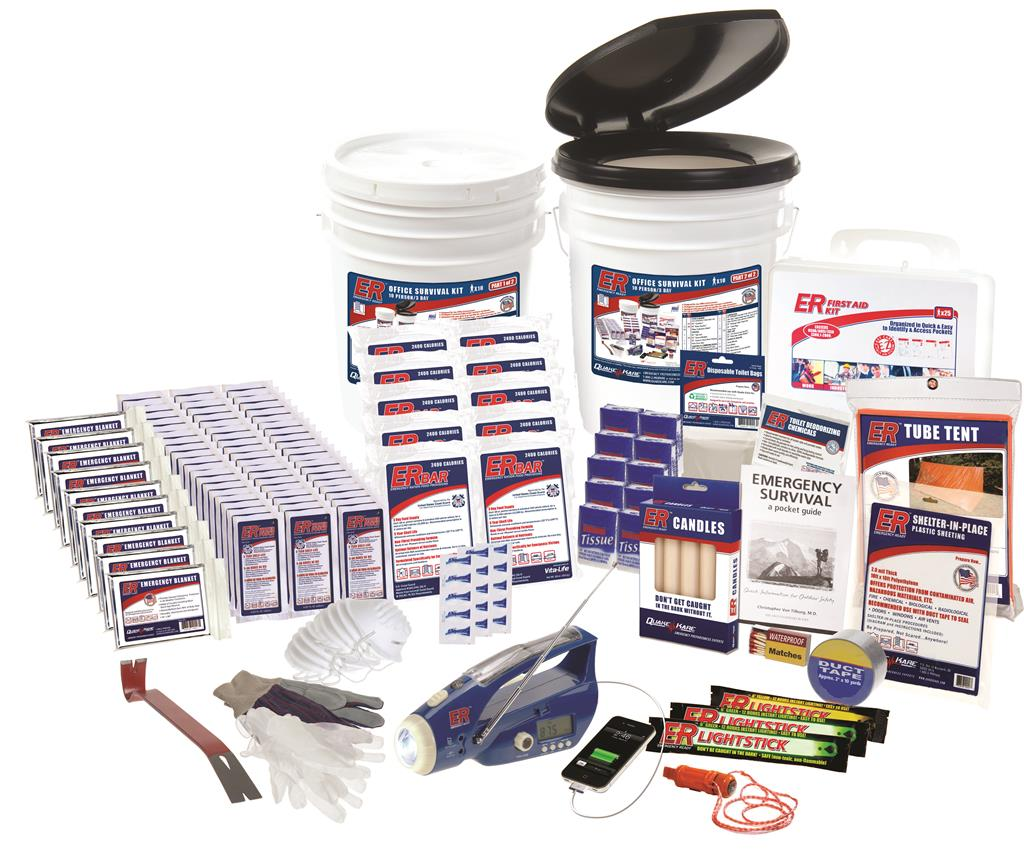 ER™ 10 Person Ultimate Deluxe Survival Kit