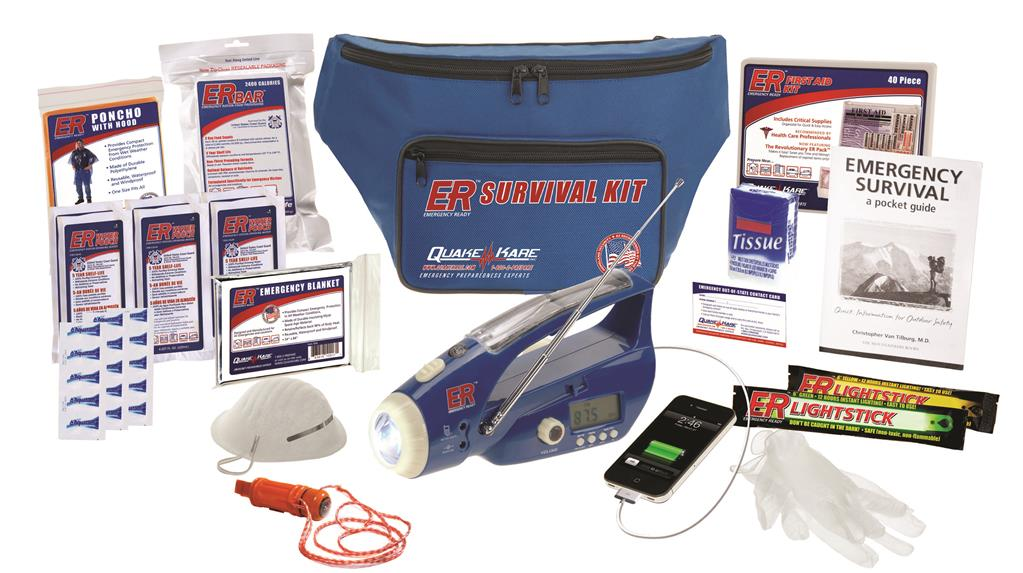 ER™ 1 Person Deluxe Fanny Pack Survival Kit