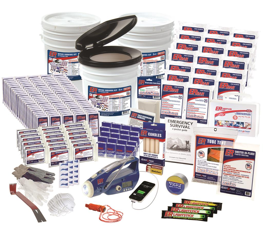 ER™ 20 Person Ultimate Deluxe Survival Kit