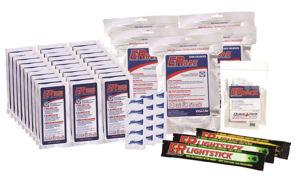 ER™ 5 Person Survival Kit Easy Replacement Pack