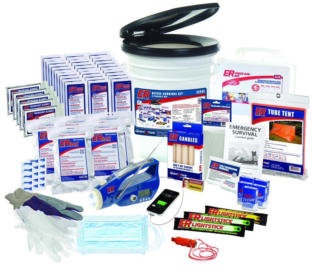 ER™ 5 Person Ultimate Deluxe Survival Kit