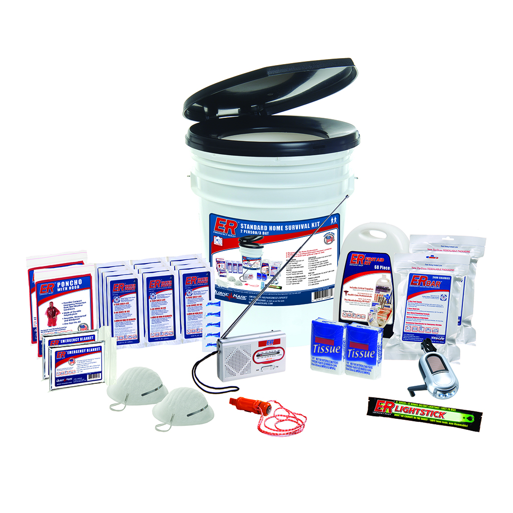 ER™ 2 Person Deluxe Survival Kit