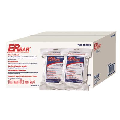 ER™ 2400 Calorie Emergency Food Bars - 1 Case