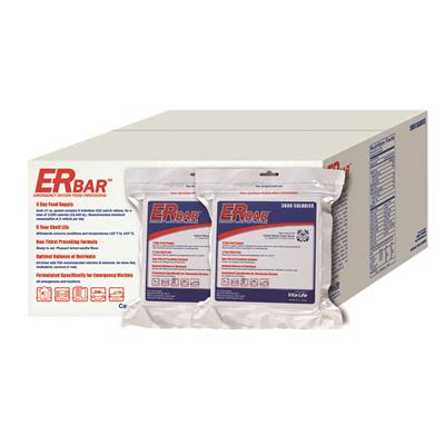 ER™ 3600 Calorie Emergency Food Bar - 1 Case