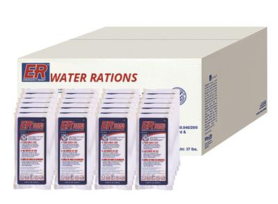 ER™ Emergency Water Pouches - Case