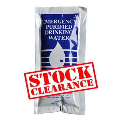 Emergency Water 3-year Shelf-Life
