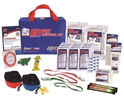 ER™ Deluxe Dog Survival Kit - 2 Dog Supply