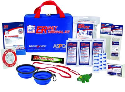 ER™ Deluxe Dog Survival Kit - 1 Dog Supply