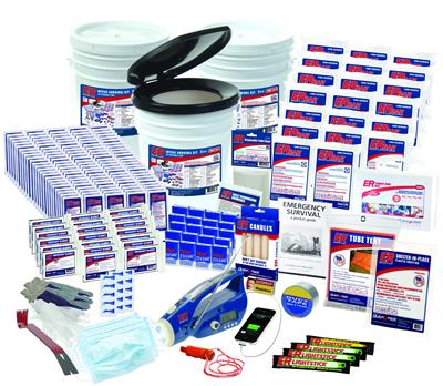 ER™ 100 Person Ultimate Deluxe Office Survival Kit