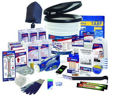 ER™ 2 Person Tornado/Hurricane Survival Kit