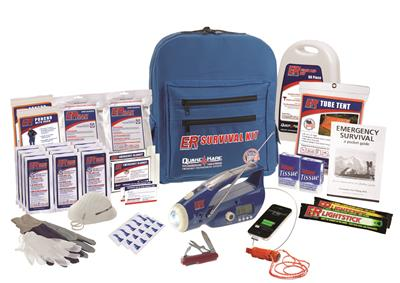 ER™ 2 Person Ultimate Deluxe Backpack Survival Kit