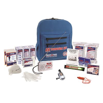 ER™ 2 Person Deluxe Backpack Survival Kit