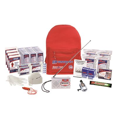 ER™ 4 Person Deluxe Backpack Survival Kit