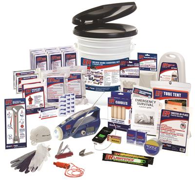 ER™ 2 Person Deluxe Home Survival Kit