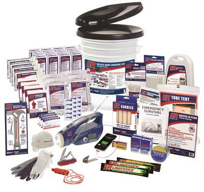 ER™ 4 Person Deluxe Home Survival Kit