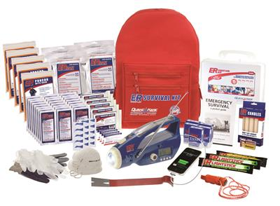 ER™ Safety Backpack Survival Kit